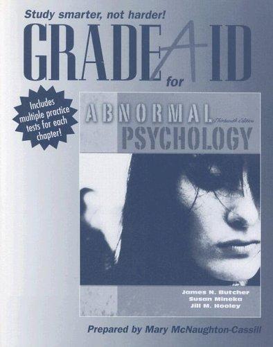 Grade Aid Workbook for Abnormal Psychology