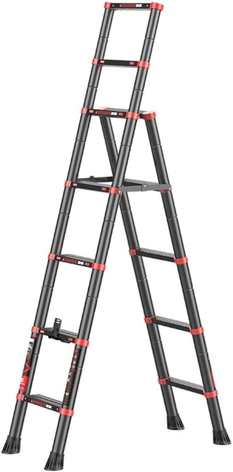 AsdflinaKNR Multi-Posición 5 Escalera Plegable de Aluminio Escalera Plegable Plegable Kitchen Paso hogar (Color : A, tamaño : 5 Steps): Amazon.es: Hogar