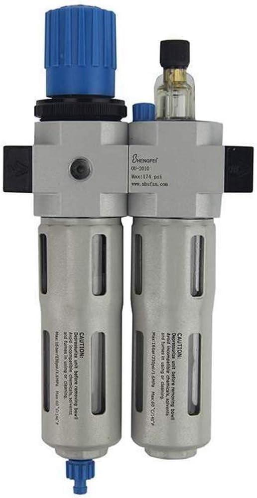 Miniature Precise OU-2010-N1//8 Pneumatic 1//8 Filter Regulator Lubricator