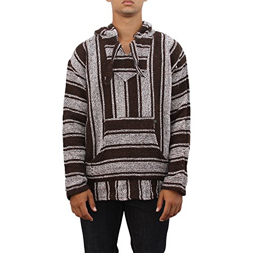 Chic Baja Billy Original Mexican Pullover Hoodie Poncho