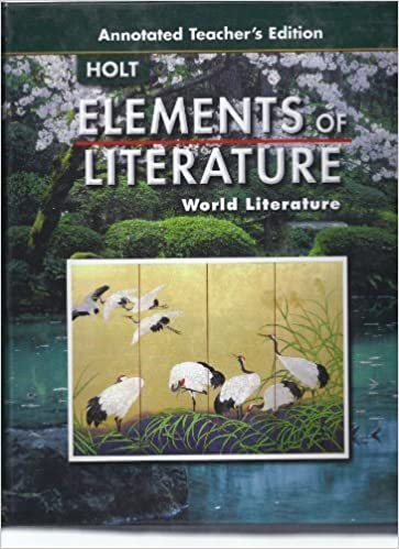 Elements Of Literature World Literature Annotated