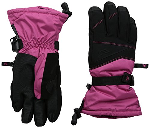 Gordini Women's Stomp III Gloves, Black Deep Pink, Medium