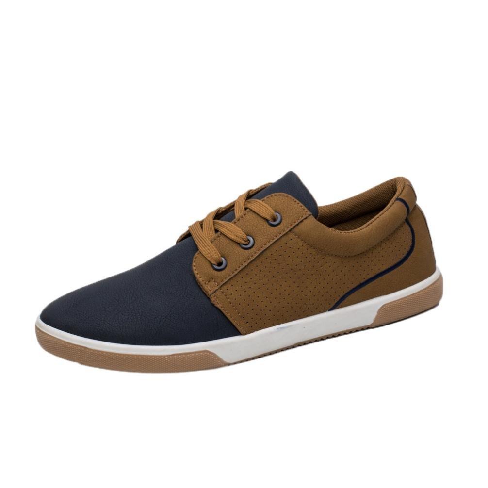 Amlaiworld Zapatos de hombre Zapatos casuales de Primavera otoño de hombre Zapatos masculinos zapatillas deportes hombre (Azul, EU42 /CN 43): Amazon.es: ...