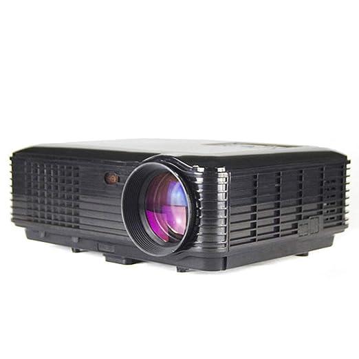 Lqsm Mini proyector, proyector portátil de Alta definición con ...