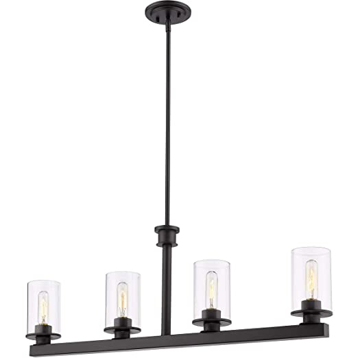 Amazon.com: Island Lighting - Lámpara de techo (4 focos ...