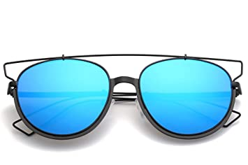 LKVNHP anteojos Ojo de Gato Marcas Gafas de Sol de diseñador ...