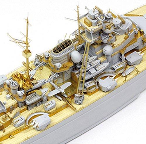 タミヤ スケール限定商品 1/350 ドイツ海軍 戦艦 ビスマルク 1941 ディティールアップセット プラモデル用パーツ 25181