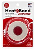 heat adhesive - HeatnBond UltraHold Iron-On Adhesive, 5/8 Inch x 10 Yards