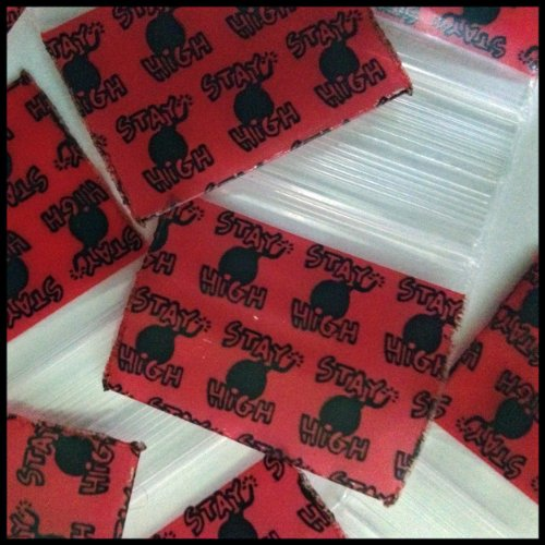 1000 Mini Ziplock Baggies 12510 Get Real Design Mix Apple Brand High End Quality 1.25
