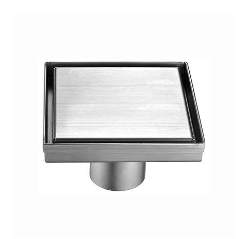 MERT Design - Desagüe de suelo (cuadrado, acero inoxidable ...