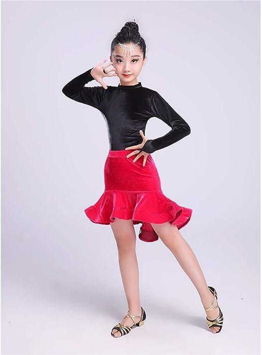Falda de leotardo para niñas Muchachas para niños Spandex Vestido ...