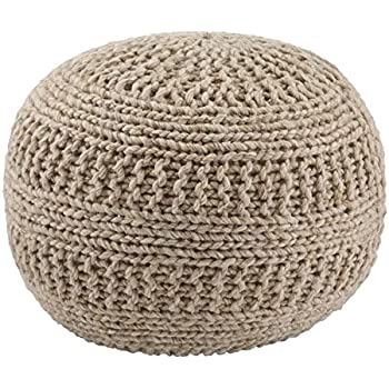 Amazon Keter 228474 Urban Knit Pouf Set Misty Bluetaupe