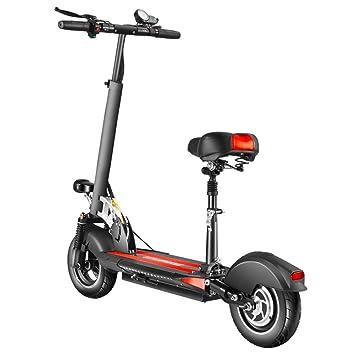 SYCHONG Scooter Eléctrico con Asiento Plegable Y Ajustable ...