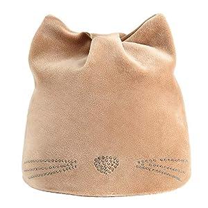 SKays Baby Children's Winter Warm Knitted Hat Boy Girl Autumn Winter Beanie Hat Russian Hat Warm Cat Hat Ear Muffs Hat