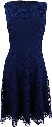 Pick SZ//Color. Jessica Simpson Womens Dresses Lace Knit Midi Dress