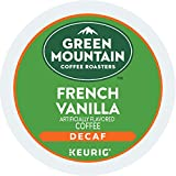 Green Mountain Coffee Light Roast K-Cup for Keurig Brewers, French Vanilla Decaf Coffee (Pack of 96)