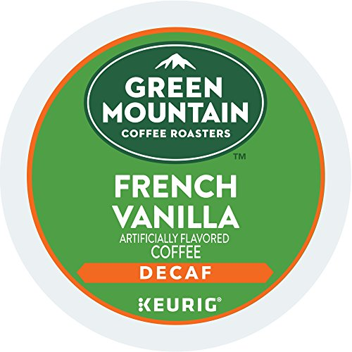 Green Mountain Coffee Roasters French Vanilla Decaf Keurig Solitary select-Serve K-Cup Pods, Light Roast Coffee, 72 Count (6 Boxes of 12 Pods)