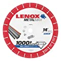 "Lenox Tools 1972932 METALMAX Diamond Edge Cutoff Wheel, 14"" x 1"""