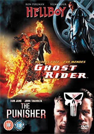 Amazon com: Ghost Rider/Hellboy/the Punisher [Import anglais