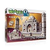 Taj Mahal 950 piece 3D jigsaw puzzle made by Wrebbit Puzz3D