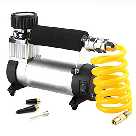 YONG FEI Compresores de aire - DC 12V Neumático auto del coche 100 PSI Bomba de aire ...