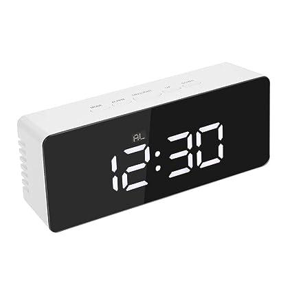 anna-neek luz, LED reloj Digital Despertador Termómetro, Calendario, Hora /despertador