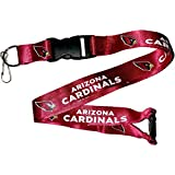 Official NFL Lanyard with Detachable Buckle KEY Chain All Teams 2 Sided Imprint