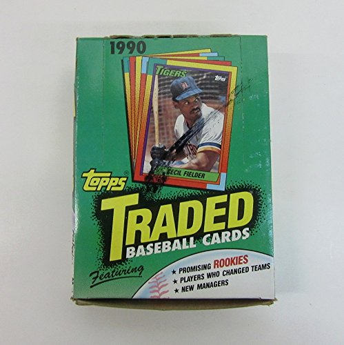 1990 Topps Baseball Traded (1990 Topps Traded Baseball Wax Box)