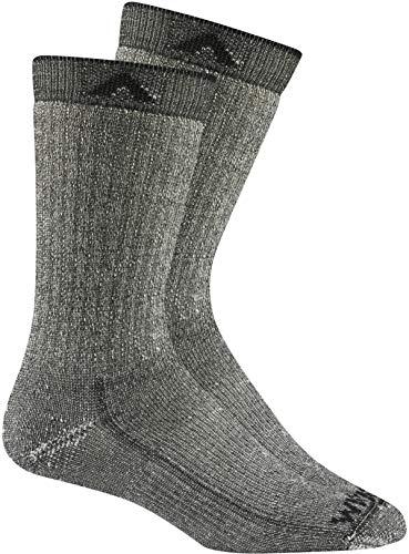 - Wigwam Merino Comfort Hiker 2-Pack S2322 Sock, Black II - Large