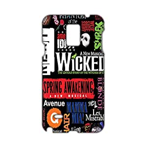 3D Case Cover Broadway theatre Phone Case for Samsung Galaxy Note4