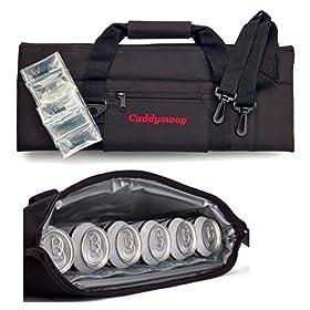 Caddyswag Par 6 Pack Golf Bag Cooler With Flexible...