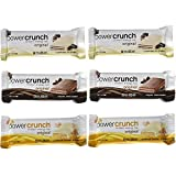 Power Crunch Original Protein Bars Variety Pack (6 Bars) Review