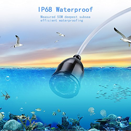 Eyoyo 15M 4.3″ LCD Ice/Sea Fish Finder 1000TVL Underwater ...