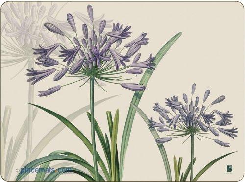 Pimpernel Agapanthus Placemats - Set of 6
