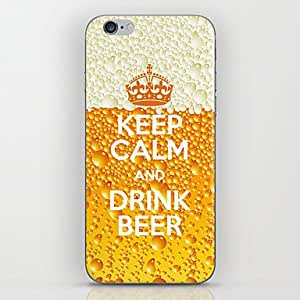iPhone 5S Case, WKell Crown Beer Pattern Back Case for iPhone 5/5S