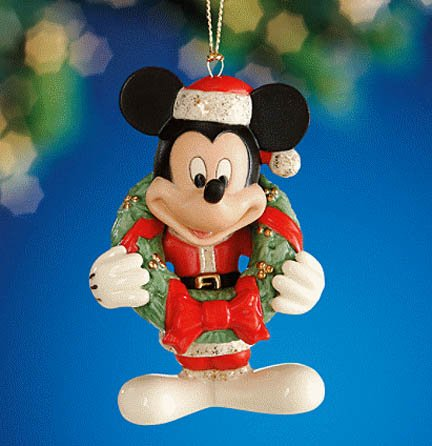 Antiquity Lenox Accent (Lenox 2011 Annual Merry Mickey Ornament)