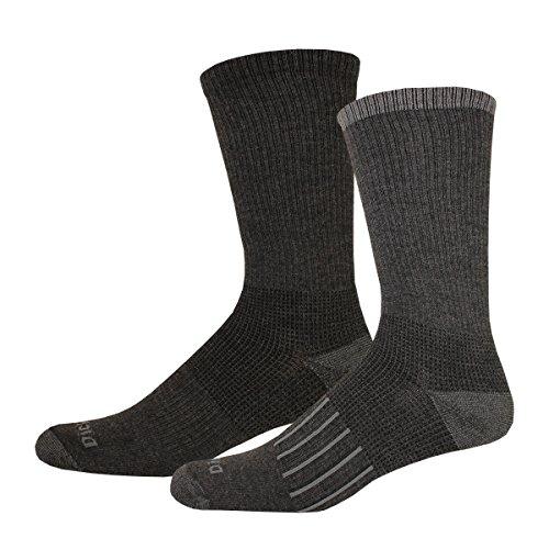 Nice Dickies Men's Work To Casual Stripe Assortment Crew Socks, 4 Pair