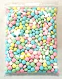 Dubble Bubble Polarmint Pastel Colors Hard Candy, 2 Pounds Vending Hard Candy Coated. Includes a Free 4 Oz Bag of Amish Country Popcorn
