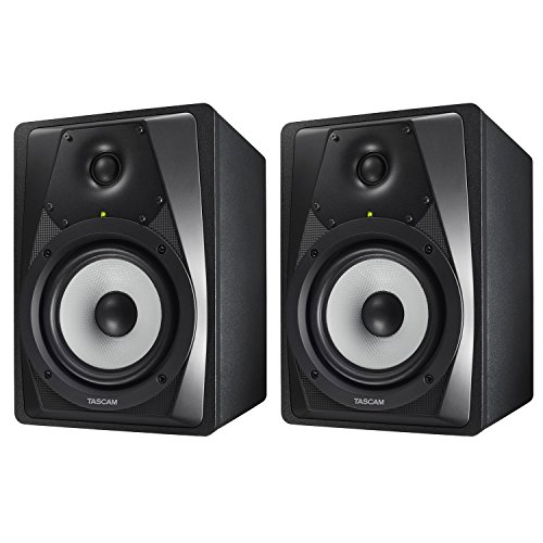 2 Way Shielded Monitors (TASCAM VL-S5 Professional 2-Way Studio Monitor with Kevlar Cone - 2 Pack)