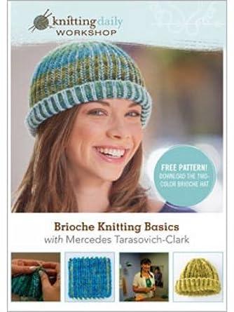 Amazon Brioche Knitting Basics Knitting Daily Workshop