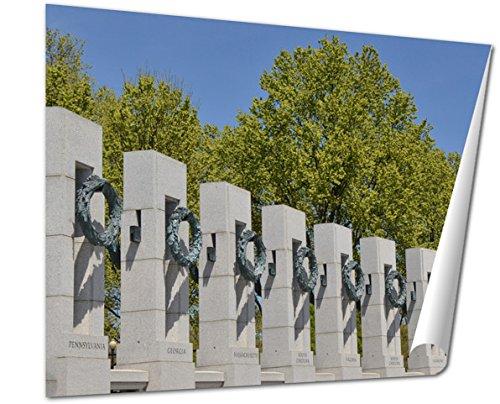 Ashley Giclee Fine Art Print, World War Ii Memorial, 16x20, - Where Memorial Is Mall City