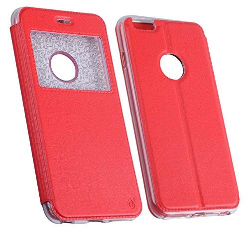 One plus Metallic Cover Schutzhülle für LG K8–Rot