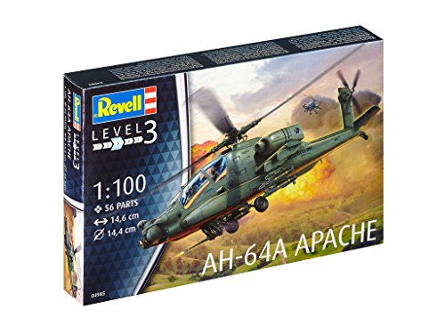 Revell Germany Apache 100 Helicopter Model Kit Model Kit