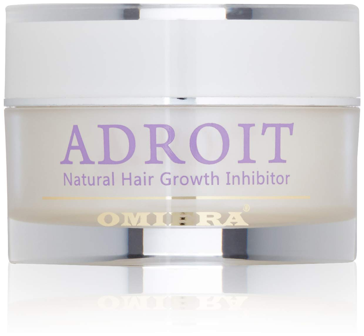 Omiera Adroit Natural Facial, Body, Bikini, And Legs Hair Growth Inhibitor Cream, Minimizes Growth of Unwanted Hair While Preventing Breakouts, After Epilation, Laser or Wax Cream, 1 Ounce Omiera Labs 4X-Q35Y-PZSK