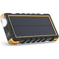 RAVPower PB092 2500mAh Portable Solar Power Bank with 3 USB Charging Ports