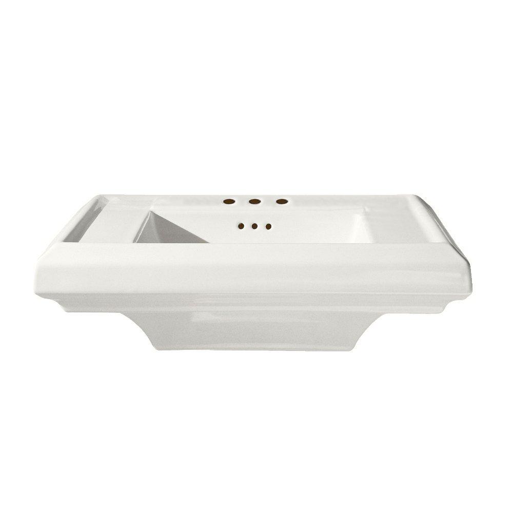 American Standard 0790.008.020 Town Square 24-Inch Pedestal Sink Top ...