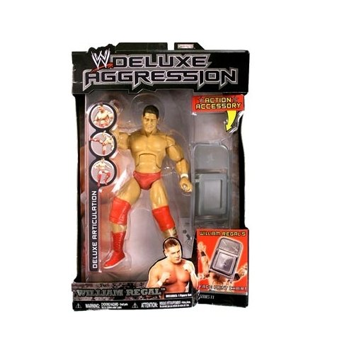 (WWE Deluxe Aggression Series 11 William Regal Action Figure)