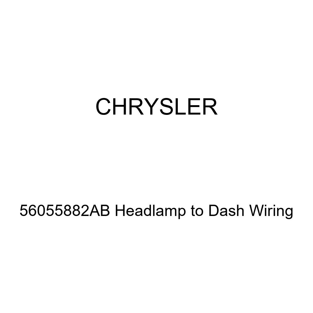 Genuine Chrysler 56055882AB Headlamp to Dash Wiring