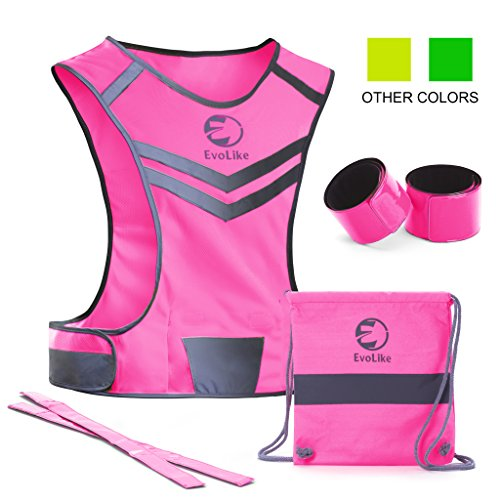 Women Reflective Vest EvoLike of Unique Design for Running...