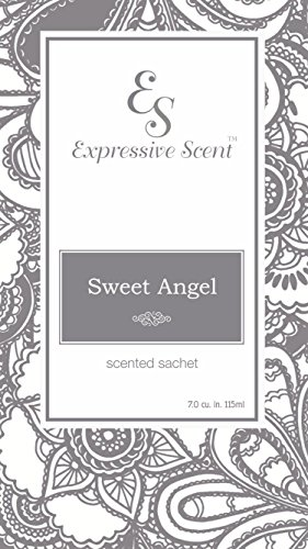 - Expressive Scent 6 Pack Sweet Angel Large Scented Sachet Envelope By